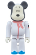 BE@RBRICK ASTRONAUTS SNOOPY 100%