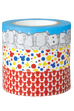 BE@RBRICK masking tape 3-pack<br> CORPS/MONUMENT/POLCADOT 2