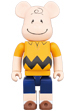 BE@RBRICK CHARLIE BROWN 1000%