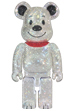 CRYSTAL DECORATE SNOOPY BE@RBRICK 400%