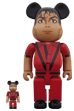BE@RBRICK Michael Jackson Red Jacket 100% & 400%