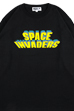 MLE SPACE INVADERSシリーズ LONG SLEEVE TEE