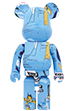 BE@RBRICK JEAN-MICHEL BASQUIAT #4 1000%