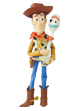 UDF TOY STORY 4 WOODY & FORKY