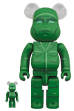 BE@RBRICK GREEN ARMY MEN 100% & 400%