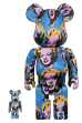 Andy Warhol's Marilyn Monroe BE@RBRICK 100% & 400%
