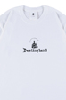 DestinyLand CASTLE logo T-shirt(白)