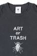 ART or TRASH T-shirt(黒)