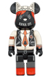 BE@RBRICK ANNA SUI RED & BEIGE 1000%
