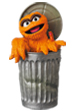 UDF SESAME STREET シリーズ2 OSCAR THE GROUCH (The Original Orange Fur Ver.)