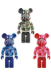 BE@RBRICK CLEAR ABC CAMO SHARK 1000%