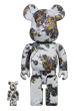 BE@RBRICK Jackson Pollock Studio(SPLASH) 100% & 400%