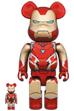 BE@RBRICK IRON MAN MARK 85 100% & 400%