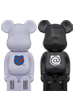 cleverin (R) BE@RBRICK WHITE/BLACK