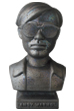 CERAMICK Andy Warhol Bust 60s