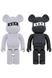 BE@RBRICK GOD SELECTION XXX 1000% WHITE/BLACK