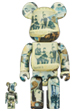 BE@RBRICK The Beatles 'Anthology' 100% & 400%