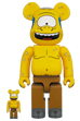 BE@RBRICK SIMPSONS CYCLOPS 100% & 400%