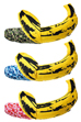 MLE × BAPE(R) ANDY WARHOL ABC BANANA CUSHION L(GREEN CAMO/BLUE CAMO/PINK CAMO)