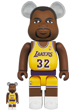 BE@RBRICK Magic Johnson (Los Angeles Lakers) 100% & 400%