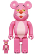 BE@RBRICK PINK PANTHER 100% & 400%
