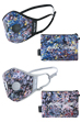 AIRINUM URBAN AIR MASK 2.0 Jackson Pollock BLACK/GRAY