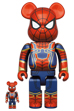 BE@RBRICK IRON SPIDER 100% & 400%