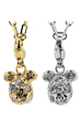 STARDUST BE@RBRICK 3CHARM PENDANT<br> GOLD/SILVER<br>