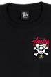 BE@RTEE STUSSY-SKULL BE@R (BLACK)<br>