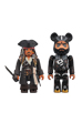KUBRICK Jack Sparrow & BE@RBRICK Blackbeard(On Stranger Tides)