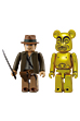 INDIANA JONES(TM) KUBRICK & GOLDENIDOL BE@RBRICK SET.