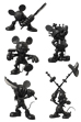 UDF MICKEY MOUSE (ROEN collection - TONE on TONE Ver.)